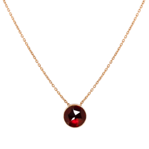 Collier Lune Rouge