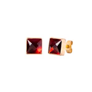 Boucles d'oreilles Écarlates